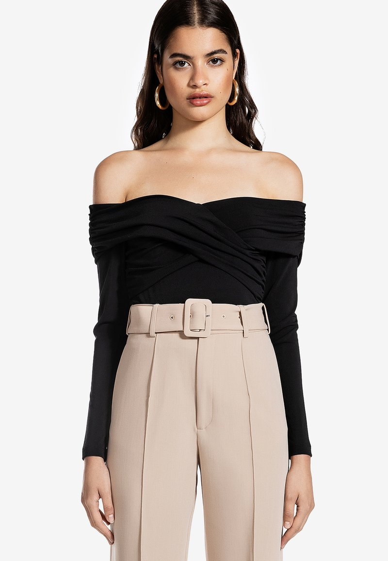 Ivyrevel - CROSS FRONT  - Långärmad tröja - black
