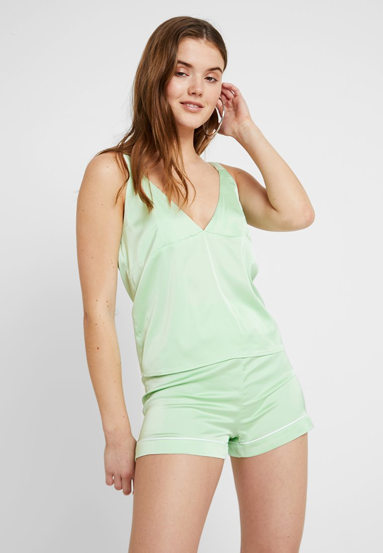 Ivyrevel - D RING SHOULDER - Bluse - pastel green