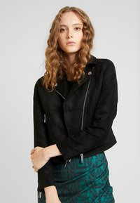 Ivyrevel - BIKER JACKET - Giacca in similpelle - black - 0
