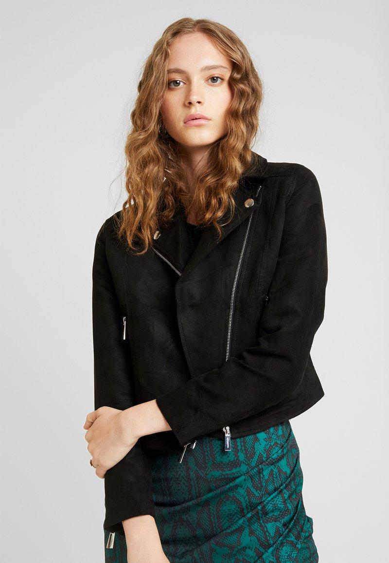 Ivyrevel - BIKER JACKET - Faux leather jacket - black
