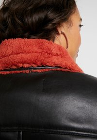 Ivyrevel - JACKET - Faux leather jacket - black/burnt red - 5