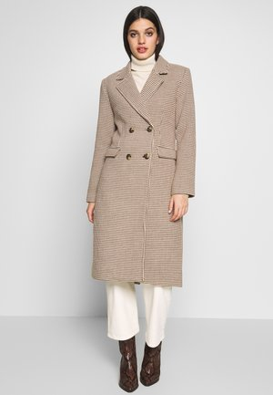 TAILORED COAT - Abrigo - white