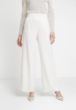 MARLENE BRIDAL PANTS - Kalhoty - snow white