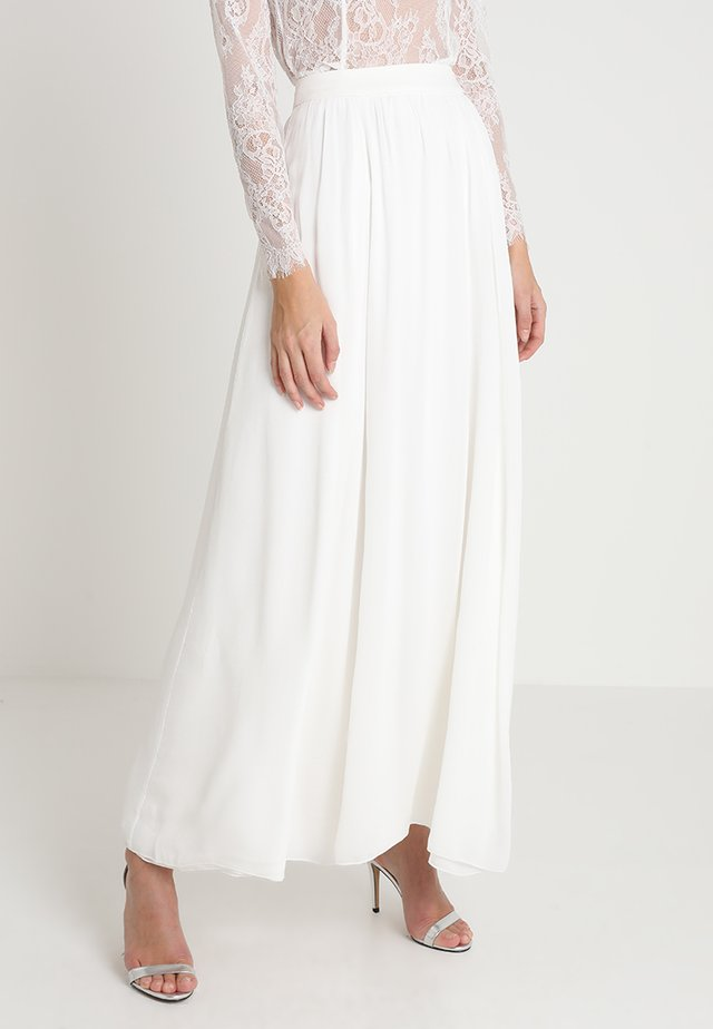 BRIDAL SKIRT - Jupe longue - snow white