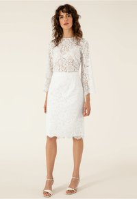 IVY & OAK BRIDAL - Pencil skirt - snow white - 1