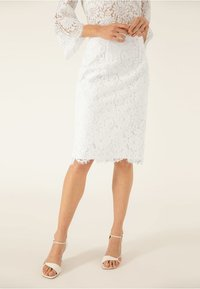 IVY & OAK BRIDAL - Pencil skirt - snow white - 0