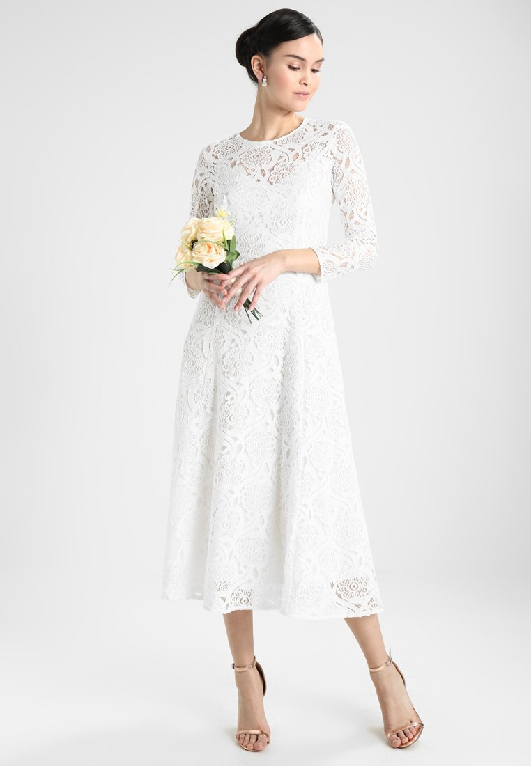 IVY & OAK BRIDAL - MIDI DRESS - Occasion wear - snow white