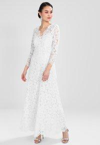 IVY & OAK BRIDAL - FLARED DRESS - Iltapuku - snow white - 0