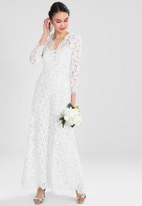 IVY & OAK BRIDAL - FLARED DRESS - Iltapuku - snow white - 2