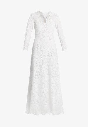 FLARED DRESS - Vestido de fiesta - snow white