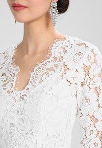 IVY & OAK BRIDAL - FLARED DRESS - Iltapuku - snow white - 4