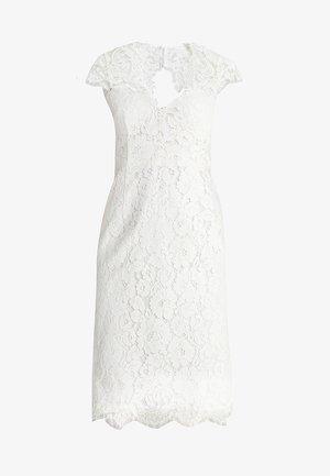COCKTAIL DRESS - Vestido de cóctel - snow white