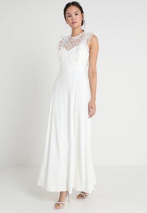 VOLANT DRESS - Suknia balowa - snow white