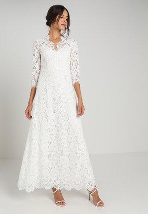 FLARED DRESS  BRIDAL - Vestido de fiesta - snow white