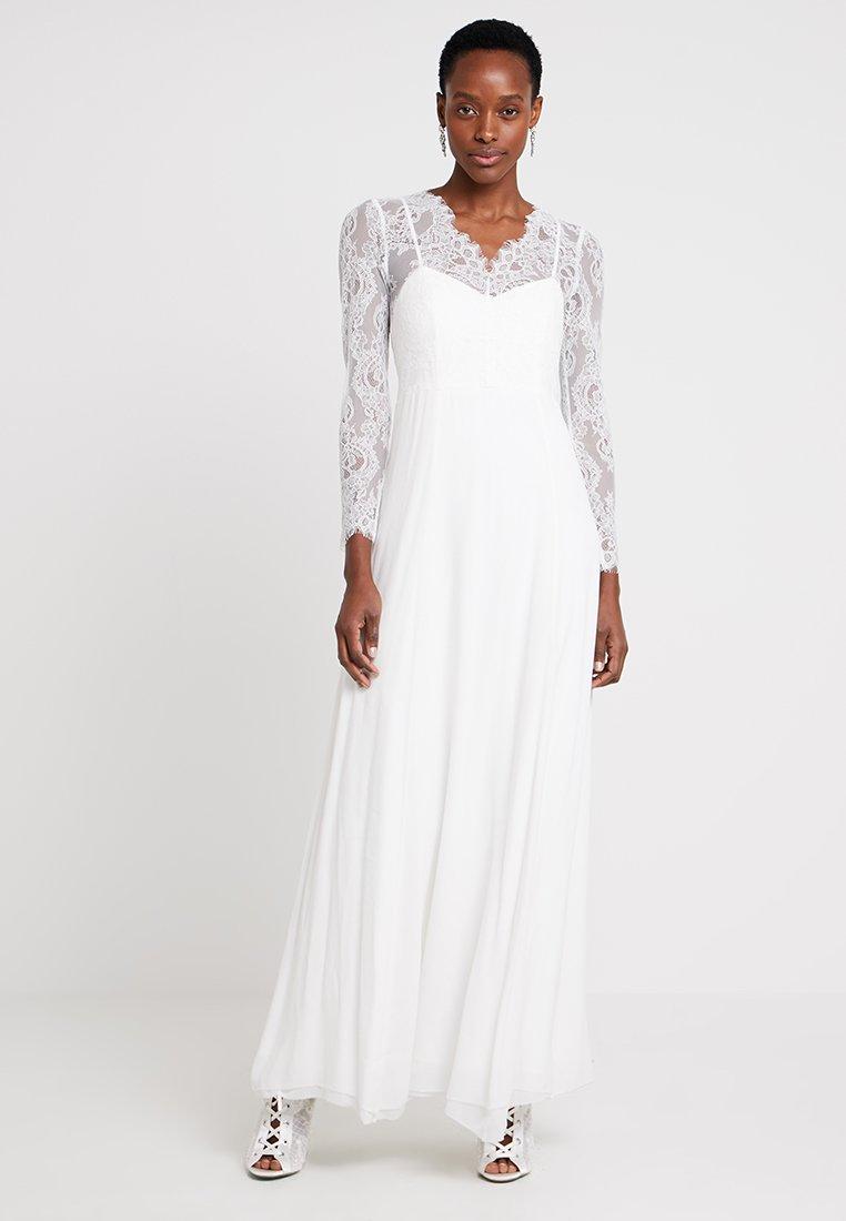 IVY & OAK BRIDAL - LONG BRIDAL DRESS - Společenské šaty - snow white