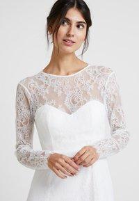 IVY & OAK BRIDAL - OPEN BACK BRIDAL DRESS - Abito da sera - snow white - 4