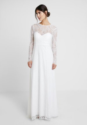 OPEN BACK BRIDAL DRESS - Abito da sera - snow white