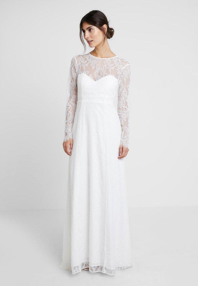 OPEN BACK BRIDAL DRESS - Occasion wear - snow white
