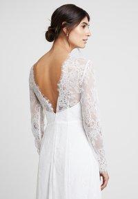 IVY & OAK BRIDAL - OPEN BACK BRIDAL DRESS - Abito da sera - snow white - 5