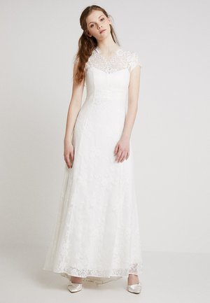 BRIDAL DRESS LONG - Iltapuku - snow white