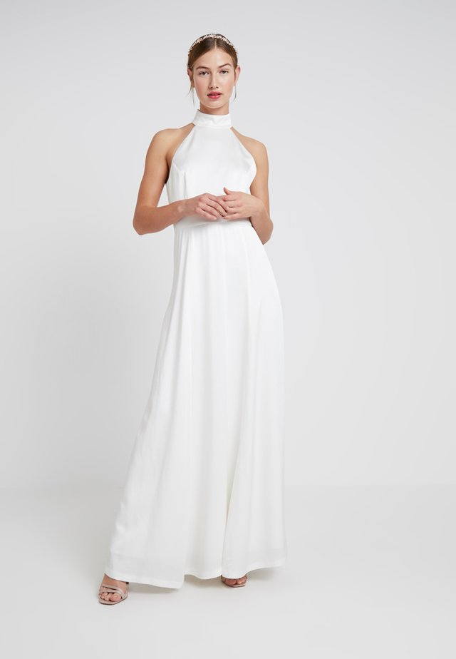 NECKHOLDER BRIDAL DRESS - Occasion wear - snow white