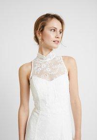 IVY & OAK BRIDAL - AMERICAN SHOULDER BRIDAL DRESS LONG - Robe de cocktail - snow white - 4