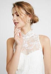 IVY & OAK BRIDAL - AMERICAN SHOULDER BRIDAL DRESS LONG - Robe de cocktail - snow white - 5