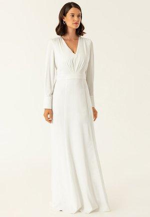 BRIDAL DRESS LONG - Robe de cocktail - snow white