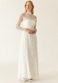IVY & OAK BRIDAL - BRIDAL LACE TAPES - Společenské šaty - white - 0