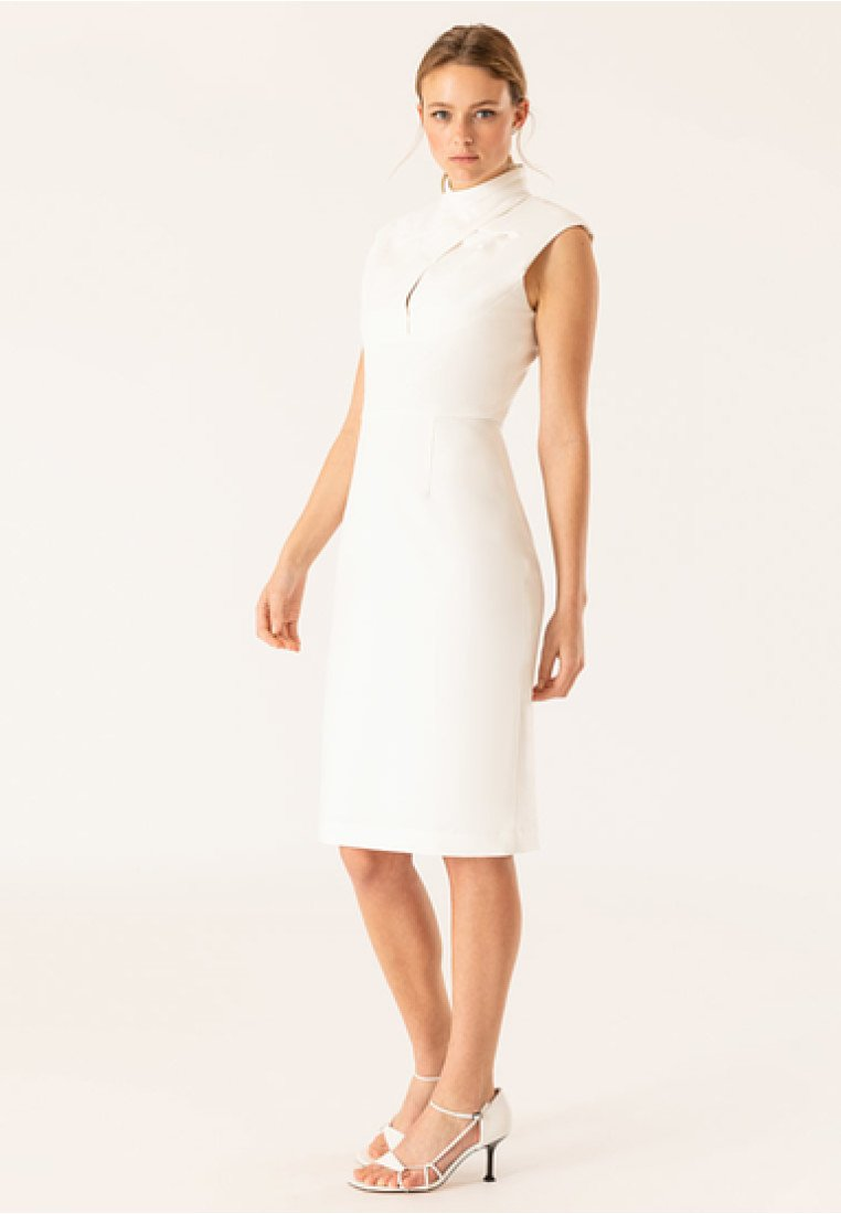 FourreauSnow Bridal Robe Ivyamp; Oak White Y7b6gfy