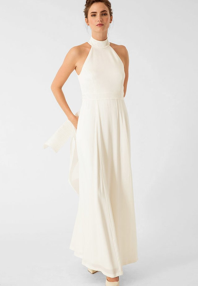 NECKHOLDER BRIDAL - Robe longue - white