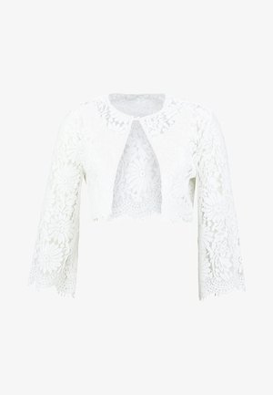 BRIDAL BOLERO - Kardigan - snow white