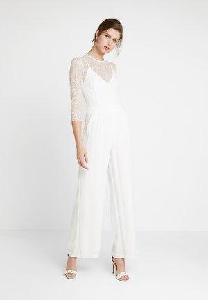 BRIDAL - Tuta jumpsuit - snow white