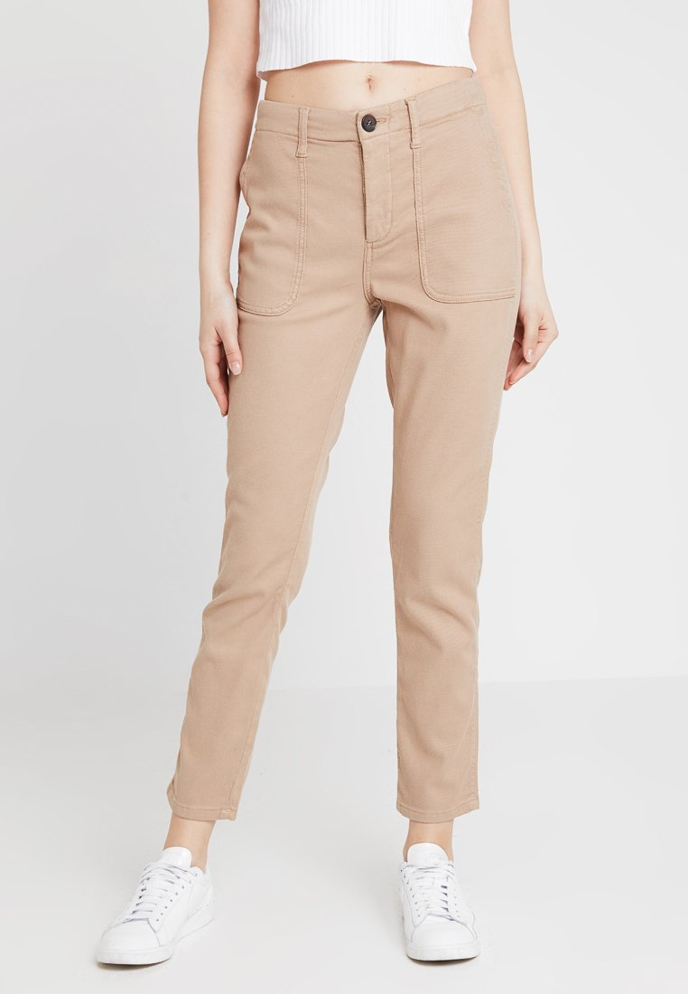 Ivy Copenhagen - SAWI PANT - Trousers - sand