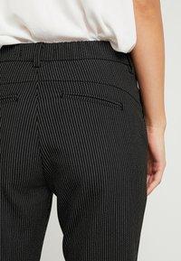 Ivy Copenhagen - ALICE PANT PIN STRIPE - Bukser - black - 5