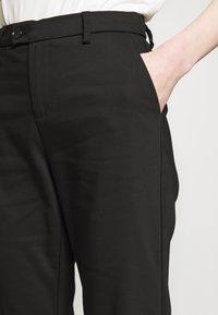 Ivy Copenhagen - ALICE CROPPED FLARE PANT - Bukser - black - 3