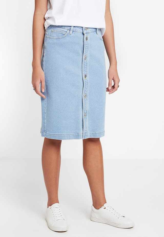 NANNA SKIRT - Kynähame - denim blue bright