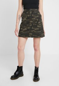 Ivy Copenhagen - Mini skirts  - dark green - 0
