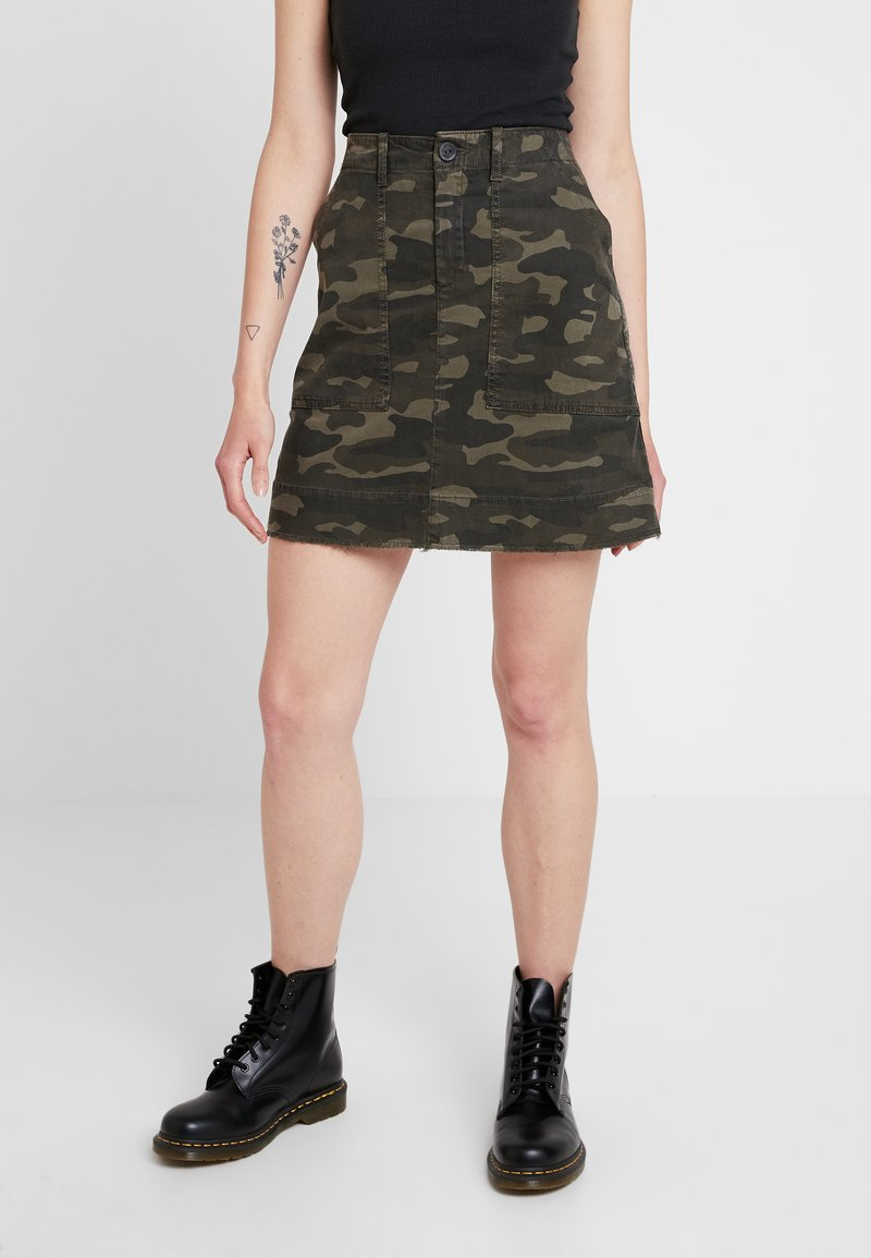 Ivy Copenhagen - Mini skirts  - dark green
