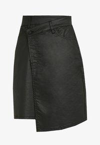 Ivy Copenhagen - KATE ASYM SKIRT - Áčková sukně - black - 3