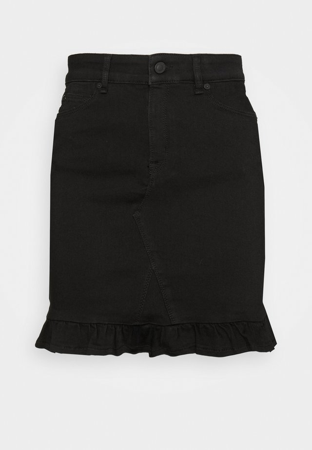 ALEXA SKIRT - Spódnica mini - black