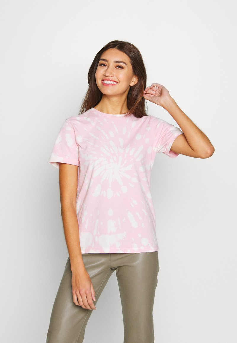Ivy Copenhagen - STATE TIE DYE TEE - T-shirts print - pink