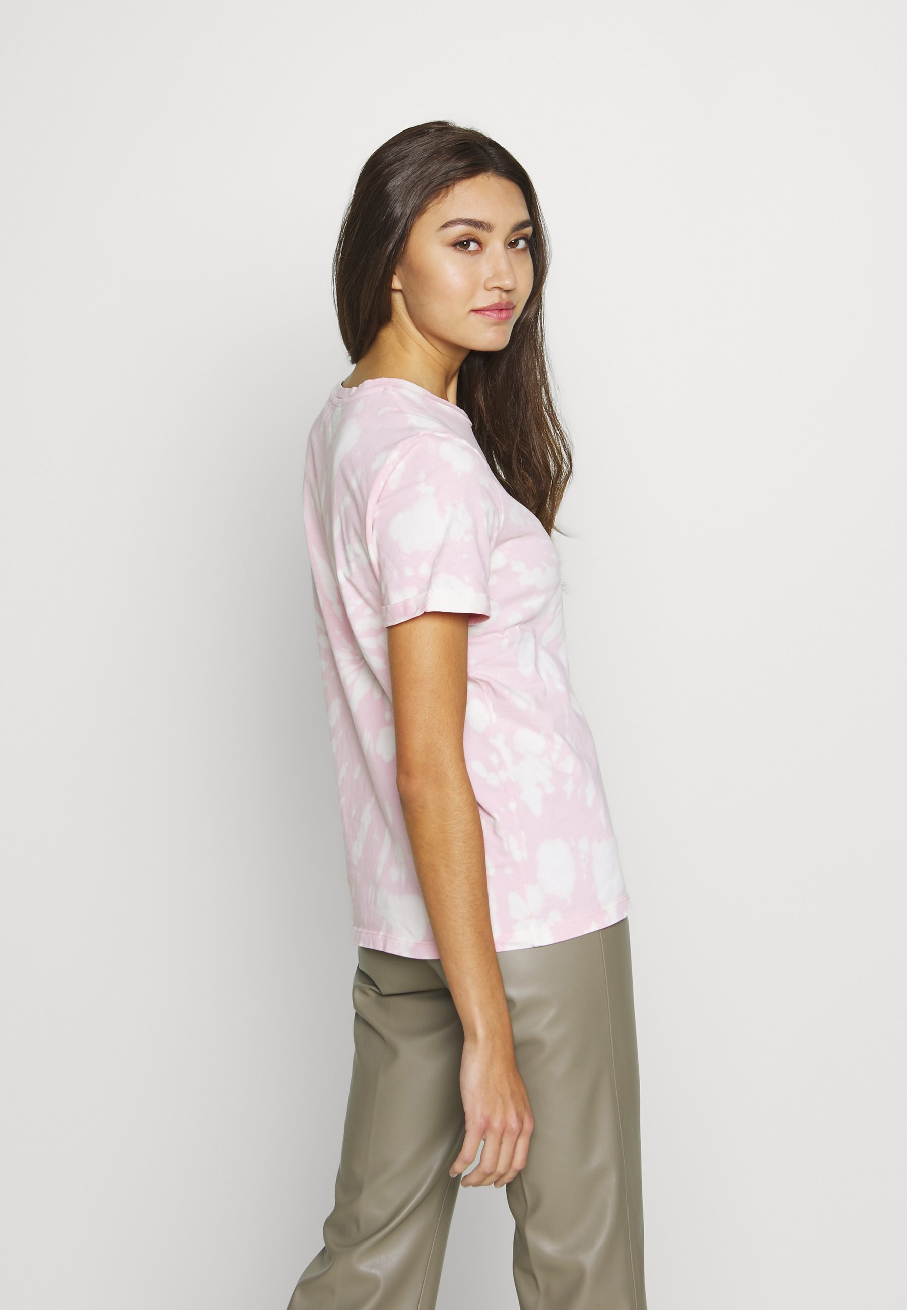 Ivy Copenhagen STATE TIE DYE TEE - T-shirts med print - pink