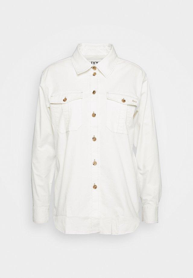 NERI SHIRT - Skjortebluser - ecru
