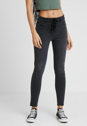 FIONA - Jeans Skinny Fit - black wash malibu