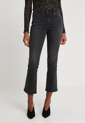 JOHANNA KICK FLARE - Flared jeans - black charcoal
