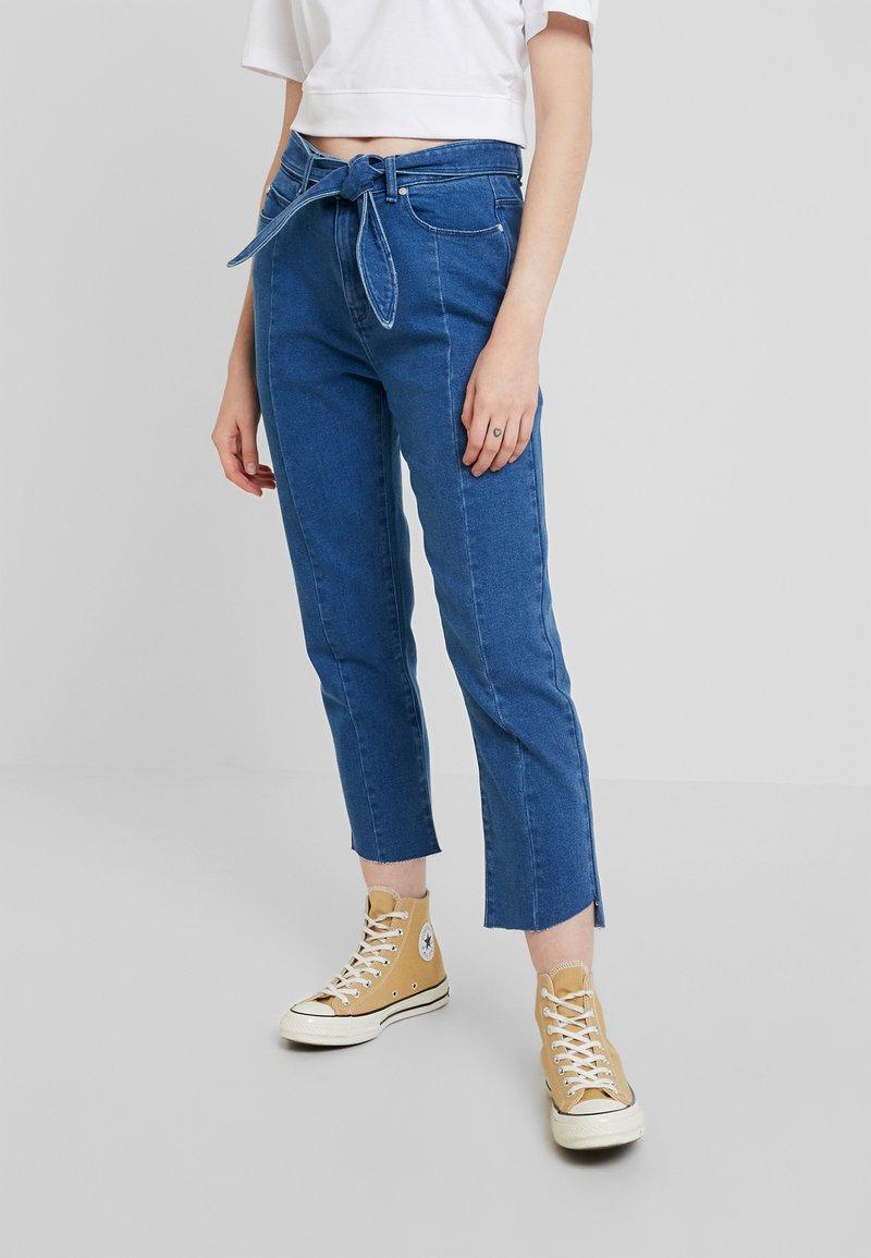 Ivy Copenhagen - RAJA STATEMENT OHIO - Slim fit jeans - d51 denim blue