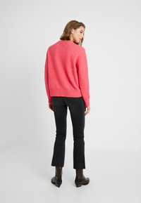 Ivy Copenhagen - JOHANNA KICK FLARE WASH USED EXCELLENT - Bootcut jeans - black - 2
