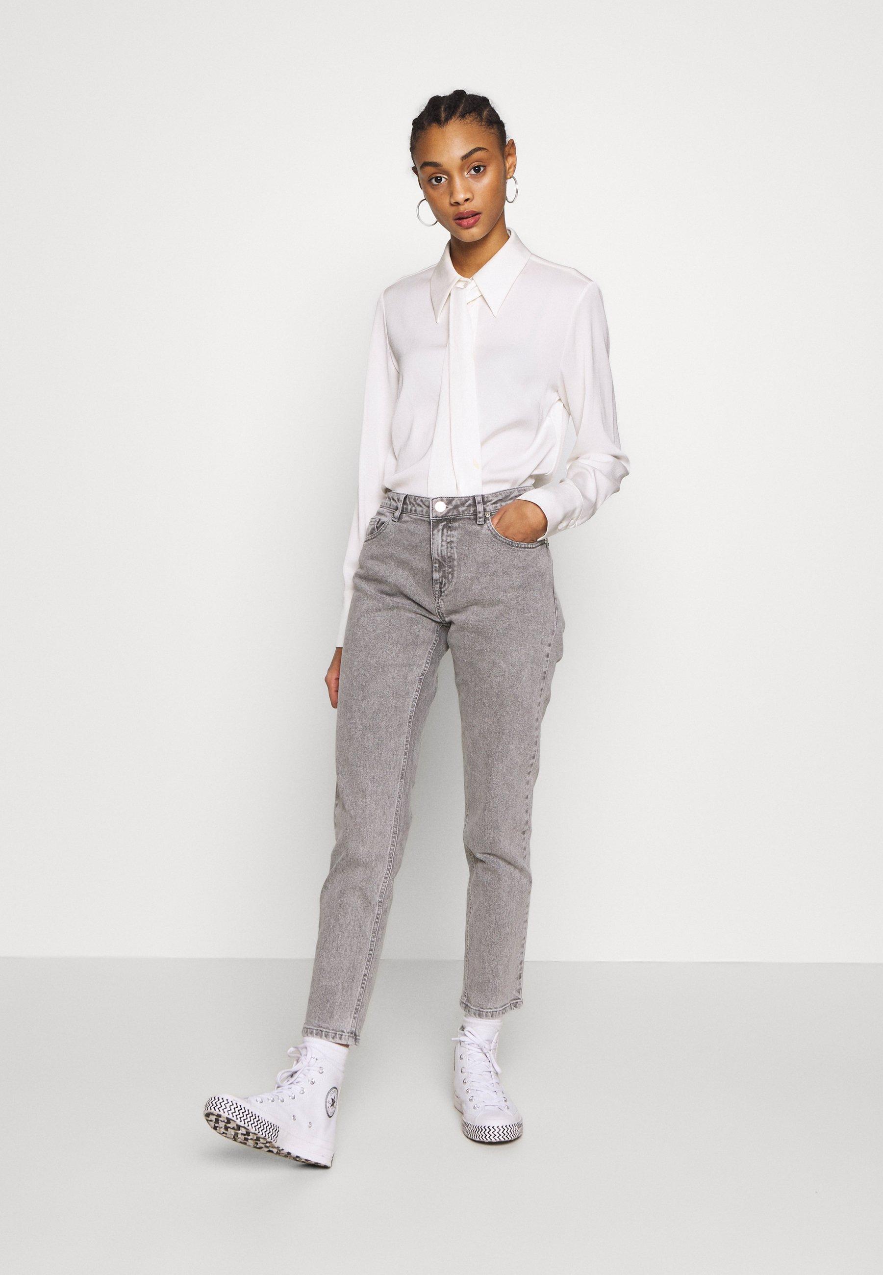 Ivy Copenhagen LAVINA MOM - Jeans baggy - grey pEqbfbQu