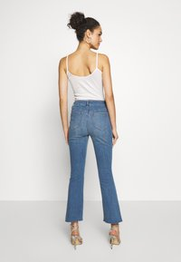 Ivy Copenhagen - JOHANNA KICK WASH LINZ - Flared jeans - denim blue - 2